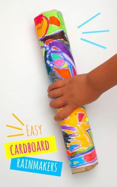 cardboard Rainmakers ever! easiest cardboard rainmakers ever- great preschool craft!easiest cardboard rainmakers ever- great preschool craft! Kids Crafts, Toddler Crafts, Arts And Crafts, Jungle Crafts Kids, Jungle Theme Crafts, Kids Craft Projects, Cardboard Crafts Kids, Safari Crafts, Dinosaur Crafts