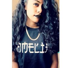 She rocking that dark lip :) Curly Hair Styles, Natural Hair Styles, Bouncy Curls, Mixed Girls, Different Hairstyles, Brown Girl, Curly Girl, Beautiful Black Women, Gorgeous Hair