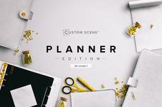 Planner Ed. - Custom Scene lite v1 by Román Jusdado on @creativemarket