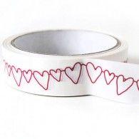 Decorative Heart Tape