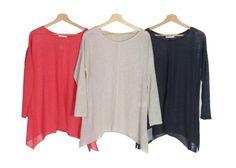 Suéter ancho. Colección Mujer Primavera Verano 2016.