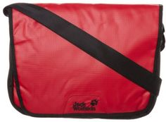 Jack Wolfskin COURIER Across body bag red