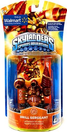 Skylanders Spyros Adventure Drill Sergeant ** You can get more details by clicking on the image.