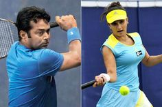Leander paes, Sania mirza, top tennis players India, best doubles tennis players, Wimbledon 2015, Indian players in wimbledon, India in grandslam, Sania Mirza award, Leander paes records, Best Indian Tennis Players, India record in wimbledon