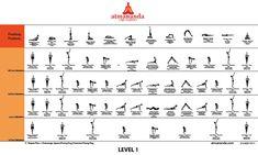 Atmananda Yoga Sequence Level 1