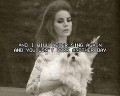 Lana Del Rey #LDR #Swan_Song