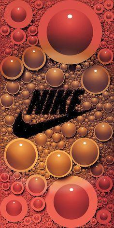 Iphone Wallpaper Logo, Hipster Wallpaper, Trippy Wallpaper, Red Wallpaper, Cool Nike Wallpapers, Beautiful Wallpaper For Phone, Bubbles Wallpaper, Hypebeast Wallpaper, Just Do It