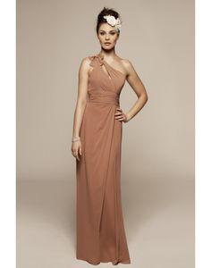 2013 Stylish One Shoulder Bridesmaid Dress