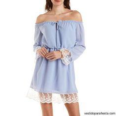 Vestidos cortos sin hombros de moda casual primavera 2015 – 14 - https://vestidoparafiesta.com/vestidos-cortos-sin-hombros-de-moda-casual-primavera-2015/vestidos-cortos-sin-hombros-de-moda-casual-primavera-2015-14/