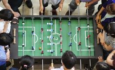 In the spirit of the World Cup, TÜV Rheinland Shanghai hosted an inaugeral Foosball Tournament at the #Shanghai Headquarters.  #selfiesworldwide #fifaworldcup2014