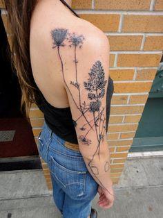 Beautiful nature tattoo - artist Xoil
