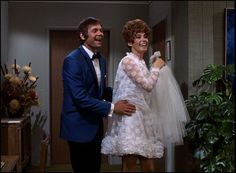 short 60s wedding dress