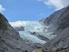 Gletscher Besteigung in Neuseeland
