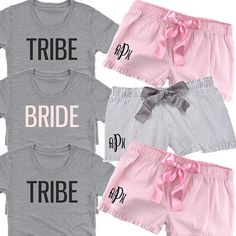 BRIDE or TRIBE Classic Crew Tee and Monogrammed by BeforeTheIDos #bride #bridetribe #beforetheidos Wedding Of The Year, Fall Wedding, Dream Wedding, Wedding Things, Wedding Stuff, Classy Bachelorette Party, Bachelorette Themes, Cape Cod Wedding, Marrying My Best Friend