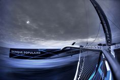 Banque Populaire Trimaran by Christophe Launay