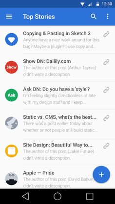 UI Inspiration: Material Design | Abduzeedo Design Inspiration Material Design List, Android Material Design, Google Material Design, Android Design, Android Ui, Mobile Application Design, Mobile Ui Design, Web Design, Ipad