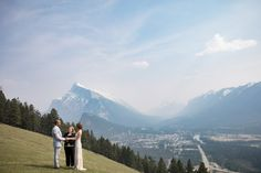Intimate and Classy Banff Summer Elopement | Rocky Mountain Bride Zion National Park, National Parks, Landscape Background, Beautiful Sites, Wedding Rentals, Canadian Rockies, Elopement Inspiration, Mountain Landscape, Banff