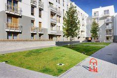 Zastosowanie kratki trawnikowej  na osiedlach mieszkalnych