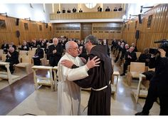 Pope Francis has thanked Fr. Giulio Michelini for directing the Spiritual Exercises from which the Holy Father and Roman Curia returned on Friday, thanking him for hispreparation.