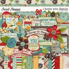 I Hope You Dance by Traci Reed #digitalscrapbooking #digiscrap