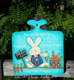 Hey, I found this really awesome Etsy listing at https://www.etsy.com/listing/225536803/spring-garden-sign-primitive-easter