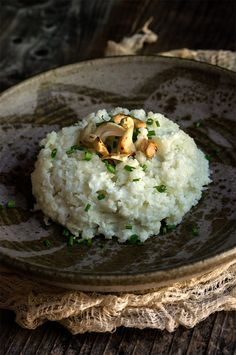 19. Cauliflower Risotto #greatist http://greatist.com/eat/healthy-risotto-recipes-that-wont-leave-you-stirring-forever
