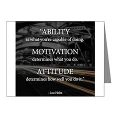 Ability, Motivation And Attitude life quotes life life quotes and sayings life inspiring quotes life image quotes Life Quotes Love, Great Quotes, Quotes To Live By, Me Quotes, Quotes Inspirational, Motivational Sports Quotes, Quotes Images, Motivational Monday, Quote Life