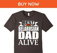Mens  Storecastle: Best Belarusian Dad Alive Father's Day T-Shirt XL Asphalt - Holiday and seasonal shirts (*Amazon Partner-Link)