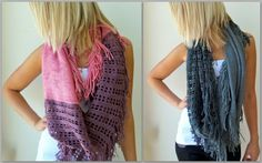 Infinity Scarves at Apricot Lane Billings