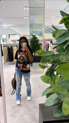 Fashion ouftit Cute Swag Outfits, Chill Outfits, Dope Outfits, Retro Outfits, Trendy Outfits, Summer Outfits, Black Girl Fashion, Look Fashion, Teen Fashion Outfits