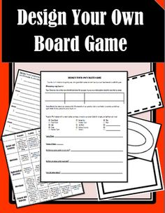 This activity provides all of the materials your students will need to create an original board game! I have included a planning sheet, questions sheet, directions page, question cards (six variations!), and a rubric. I left the topic section blank so that you can personalize this activity to fit your students needs! This makes a great end of the year activity, or a fun way to review before a test. Enjoy!