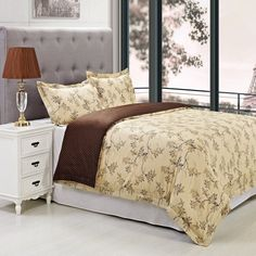 Woodhaven 3 Piece Duvet Cover Set by Superior - WOODHAVEN-300FQDC