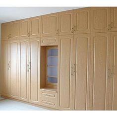 Super stylish #wardrobes in neutral hues  See more: http://modular-kitchens.com/wardrobes.html  #WardrobesBangalore #HomeInteriors