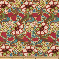 Amy Butler Soul Blossoms - Discount Designer Fabric - Fabric.com
