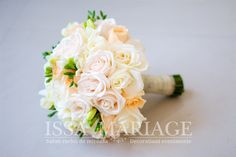 buchet nasa trandafiri albi
