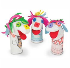 R22008 Sockles Accessory Kit Turn ordinary socks into extraordinary puppets! Personalize your sock puppet creations using the materials provided in this kit.