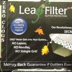2012 Triad Home & Garden Show - Leaf Filter booth