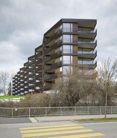 Morger & Dettli - Zellweger park housing, Uster 2013