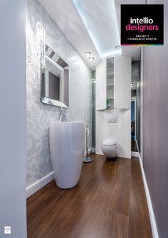 Łazienka styl Glamour - zdjęcie od Intellio designers projekty wnętrz - Łazienka - Styl Glamour - Intellio designers projekty wnętrz