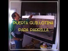DIY Puerta Guillotina para parrilla, Consejos Básicos - YouTube Parrilla Interior, Barbacoa, Bbq Grill, Diy, Videos, Youtube, Paint Techniques Wall, Brick Grill, Barbecue