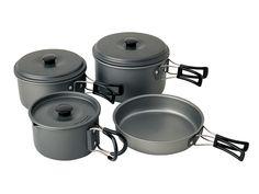 Trekking-Geschirrset 8-teilig | Koch-und Essgeschirr | Campingzubehör  28,40€