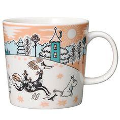 MOOMIN Arabia Mug Cup Coffee Cup MOOMIN VALLEY PARK JAPAN 2019 Limited 300ml