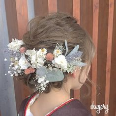 Hair Dos, Cute Dresses, Dresses Online, Trendy Fashion, Japanese Hairstyles, Fashion Dresses, Hair Styles, Kimono, Beautiful