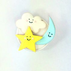 Twinkle Twinkle Little Star Cookies by PSSweet on Etsy