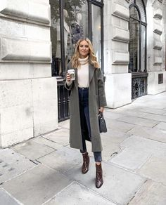Winter Fashion Outfits, Fall Winter Outfits, Autumn Winter Fashion, Trendy Outfits, Cute Outfits, Winter Clothes, Casual Winter, Winter Style, New York Winter Outfit