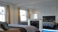 #Bedroom Oversized Mirror, Bedroom Ideas, Bedrooms, Furniture, Home Decor, Decoration Home, Room Decor, Bedroom, Home Furnishings