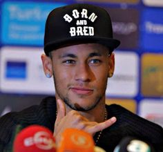 """ Neymar in Turkey for the International Royal Cup. Good Soccer Players, Football Players, Neymar Jr, Fc Barcelona Shop, Barca Team, Football Love, Black Baseball Cap, Sports Caps, Lionel Messi"