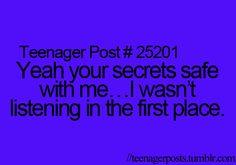 ~Teenager Posts~