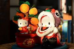 Happy Lunar New Year with Hello Kitty by SkylineGTR, via Flickr