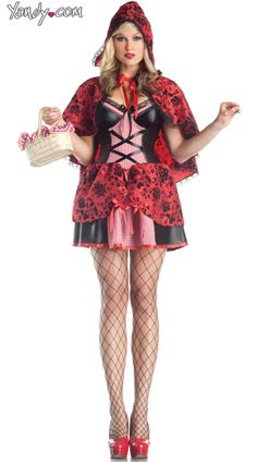 Sultry Red Riding Hood Costume Sexy Halloween Costumes, Girl Costumes, Costumes For Women, Fun Costumes, Adult Halloween, King Costume, Red Riding Hood Costume, Cowgirl Costume, Cinderella Costume